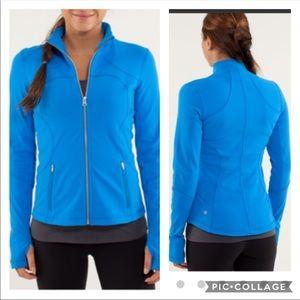 Lululemon Forme Jacket in Beaming Blue